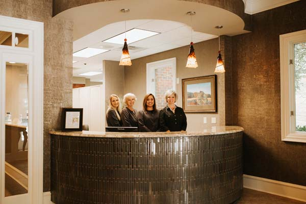 office staff at LakeView Dental Arts